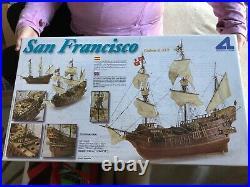 New Artesania Latina San Francisco II Galeon S. XVI Wooden Model Ship 190