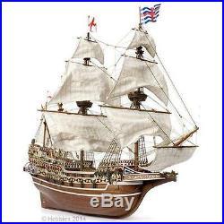 Occre HMS Revenge Galleon Drake's Flagship Model Ship 185 Scale Ship 13004