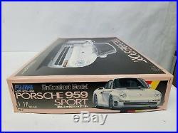 Porsche 959 Model 1/16 Testors Fujimi Brand New Free Shipping