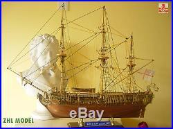 Premium ZHL Royal Caroline 1749 150 model ship wood wooden boat for adults kit