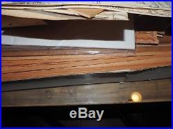 RARE NEVER BUILT ORIGINAL Mantua Panart wooden model ship Royal Caroline