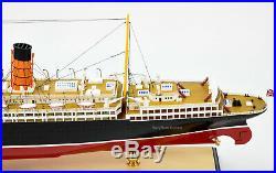 RMS Mauretania White Star Line Cruise Ship Model 38 Museum Quality