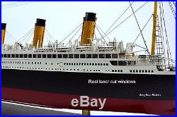 RMS Titanic White Star Line Cruise Ship Model 40 Museum Quality