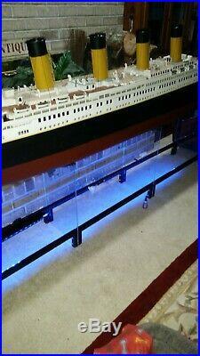 RMS Titanic handmade Model Cruise Ship OVER 10 FEET LONG REMOTE CONTROL