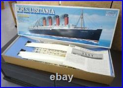 Rare Gunze Sangyo R. M. S. LUSITANIA British Passenger Ship 1/350 1350 F208 F/S