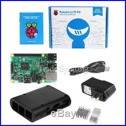 Raspberry Pi 3 Model B Revision 1.2 WiFi & Bluetooth Starter Kit US shipping