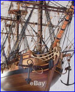 Regal, finely detailed wooden model ship kit by Euromodel La Renommee