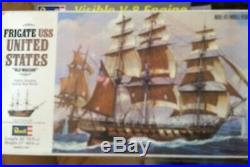 Revell H-396 Frigate USS United States Old Wagon sailing ship PERFECT Condition