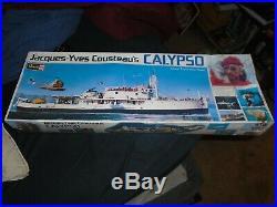 Revell #H-575 Jacques Yves Cousteau's Ship Calypso Maritime Model Kit Sealed