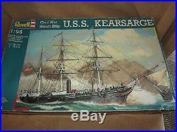 Revell Model 05603 Civil War Steam Ship USS Kearsarge 196 Scale