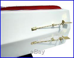 Riva Tritone Speed Boat Model 34 Handmade Wooden Ship Model NEW