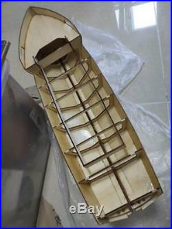 River tug OKOTA Scale 1/20 715mm RC wooden model ship kit