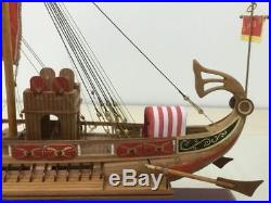 Rome Warship Caesar Scale 1/50 630mm 24.8 Wood Model Ship Kit