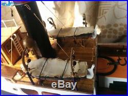 SANSON Tugboat Scale 1/50 610mm Wood Model Ship Kits