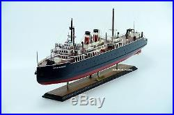 SS City of Milwaukee Great Lakes Railroad Car Ferry Handcrafted Ship Model 33