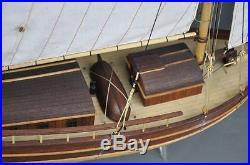 Scale 1/30 spray boston wood ship model kit laser cut wood boat model kit