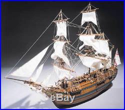 Sergal H. M. S. Bounty 160 Scale Wood Ship Kit