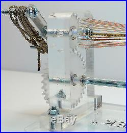 Serving machine 2.1 (wrapping) to make scaled ropes for rigging ship models