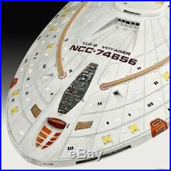Star Trek series 1/670 NCC-74656 USS Voyager From Japan Free shipping epacket