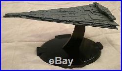 Star Wars Last Jedi Dreadnought Star Ship Destroyer Model battleship rare