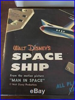 Strombecker Walt Disney Space Ship. Kit D26A-100