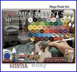 TAPWP8021 Army Painter Warpaints Mega Paint Set FREE 2 3 DAY SHIPPING