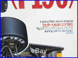 Tamiya 1/12 Ferrari 641/2 (F190) F1 formula Plastic model kit Japan Free Ship