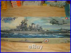 Tamiya 1/350 WWII US Battleship New Jersey BB-62 Highly Detailed Free Shipping