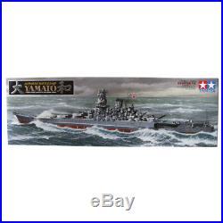Tamiya Japanese Battleship Yamato Model Set Scale 1350 Ship Model Kit 78030 NEW