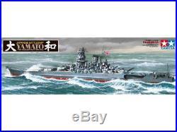 Tamiya Ship Series No. 30 Japan Navy Battleship Yamato Plastic Model 1/350 EMS