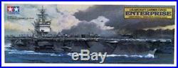Tamiya USS Enterprise Carrier Boat Plastic Model Military Ship Kit 1/350