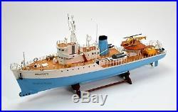 The Belafonte Steve Zissou's Ship Handmade Wooden Ship Model 36