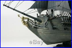 The Black Pearl Captain Jack Sparrow's Ship Model Kit. Pirates of the Carribean
