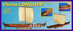Traditional, New Wooden Model Ship Kit by Dusek the Viking Longship