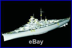 Trumpeter 1200 03702 German Battleship Bismarck 1940 Model Ship Kit