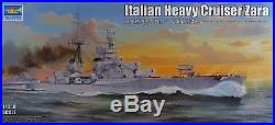 Trumpeter 1350 05347 Italian Heavy Cruiser Zara Model Ship Kit