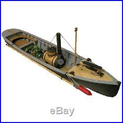 USN Picket Boat #1 Wooden Ship Model Kit 124 Scale