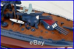 USS Arizona Pennsylvania-class Battleship Wooden Ship Model 36 Scale 1200