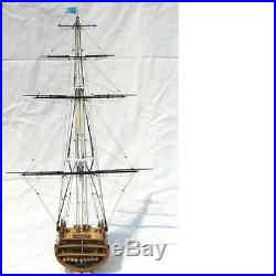 USS CONSTITUTION Scale 175 section ship model kit