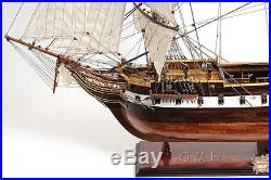 USS Constellation Frigate Tall Ship Lage 56 Built Wooden Model Ship Assembled
