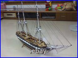 USS Constellation Scale 1/85 40 Wood Model Ship Kit
