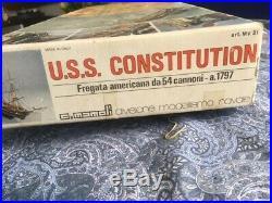 USS Constitution Mamoli MV31 Wood Ship