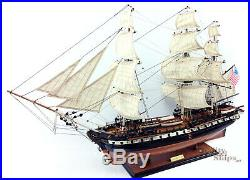 USS Constitution Tall Ship Full Assembled 35 Wooden Model Ship