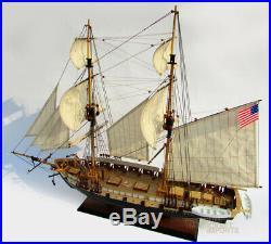 USS Niagara Handcrafted Wooden Ship Model