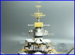 Upgrade Set for Trumpeter 03702 1/200 Scale Bismarck Battle Ship Model CYE009