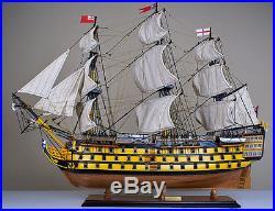 Victory 34 model wood ship British navy wooden tall ship sailing boat