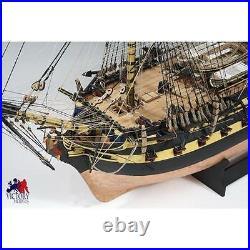Victory Models HMS Vanguard Wooden Model Ship Kit 172 Scale Large Model