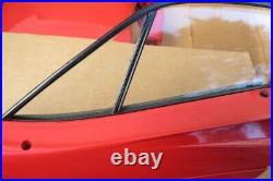 Vintage Pocher Rivarossi Ferrari F40 Big Scale Model Kit Started Pro Shipping
