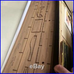 Vintage Sergal Modelli Cutty Sark 1860 178 Scale Wooden Ship Model Kit Italy