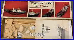 Vintage Wooden Ship Billings Boats Zwarte Zee No. 486